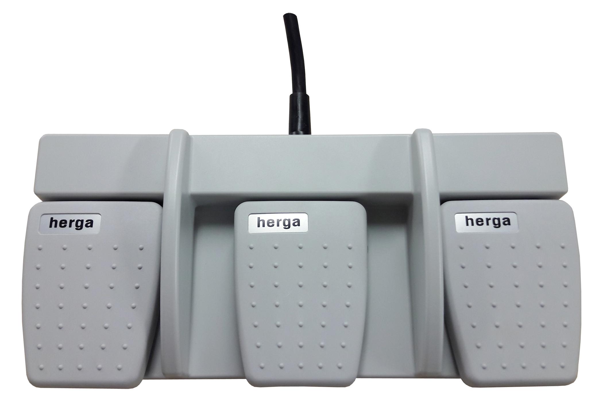 6226-0026 pédale triple Herga
