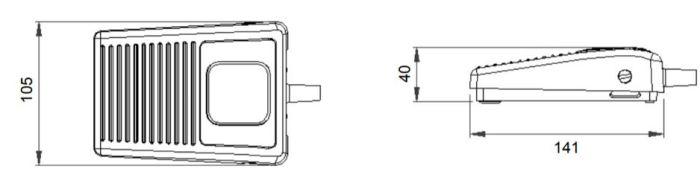 dimensions en mm de la pédale 6210.JPG