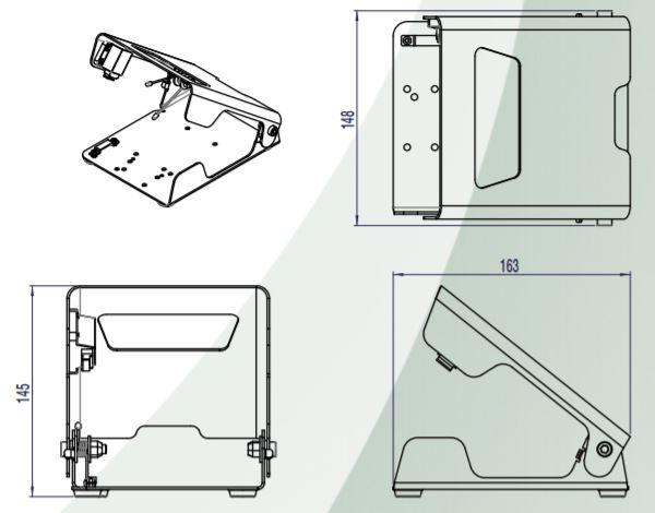 dimensions en mm du capot ouvert 6203-0001.JPG
