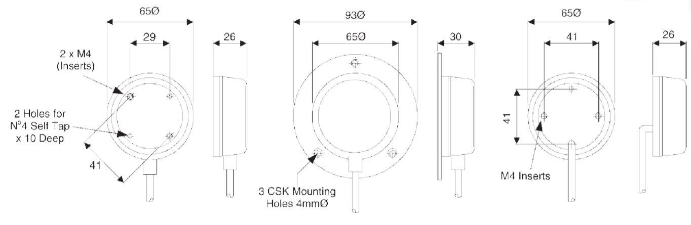 dimensions en mm du soufflet 6431 et 6439