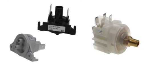interrupteurs à pression ou a vide
