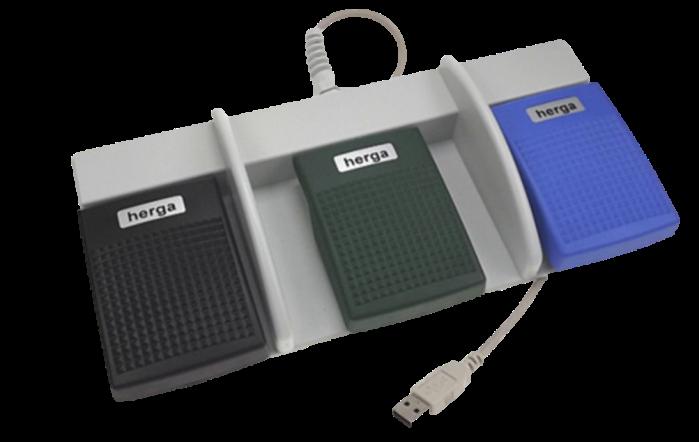 pédale triple USB