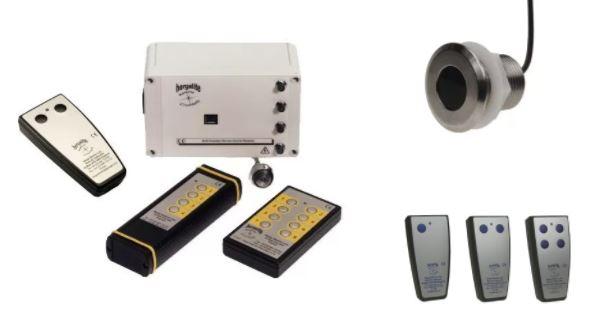 télécommandes infrarouges émetteur + récepteur