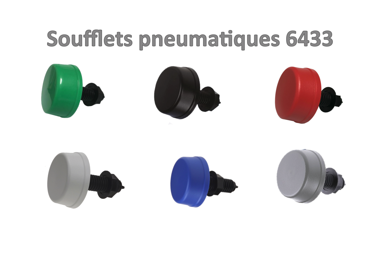 6433-zc bouton pneumatique