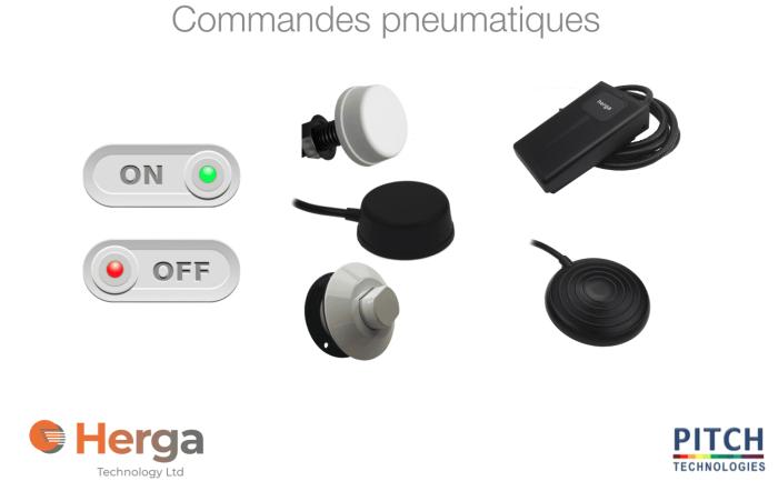 commandes pneumatiques herga pitch technologies
