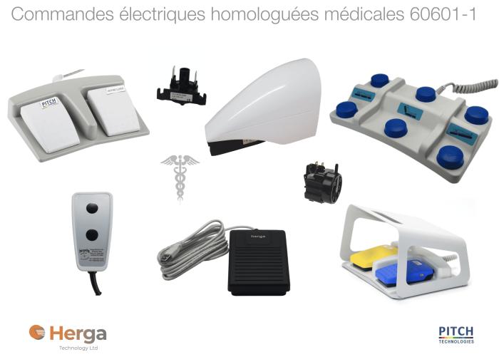 commande electrique homologuation medicale